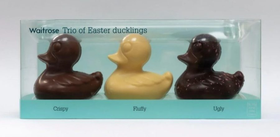 """Waitrose pulls """"racist"""" chocolate Easter ducklings and redesigns package"""