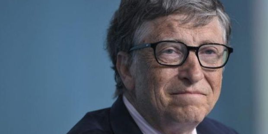 Bill Gates' rank on the list of the world's richest people goes down