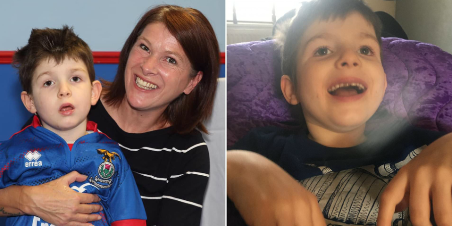 6-year-old Boy diagnosed with dementia can no longer recognize his mother