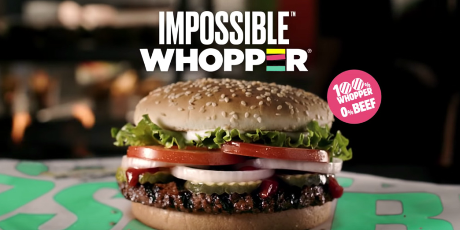 "Vegan customer sued Burger King over Impossible Whopper ""coated in meat by-products"""