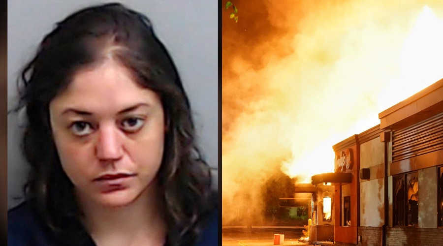 Rayshard Brooks' 'girlfriend' is charged with Wendy's arson