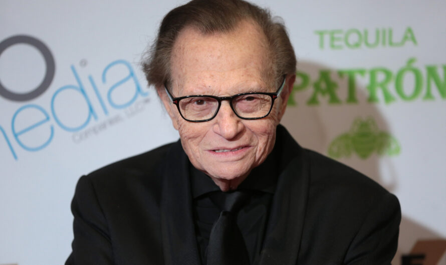87-year-old Larry King hospitalized for COVID-19